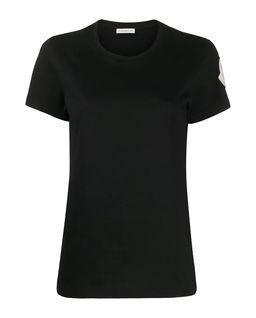 Czarna koszulka z  bawełny