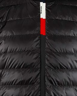 Czarny kardigan z pikowaniem