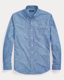 Niebieska koszula Slim Fit