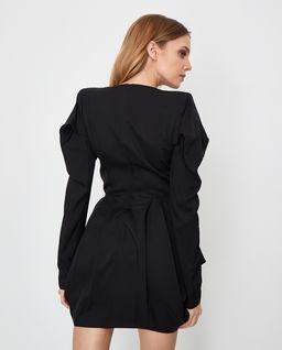 Drapowana sukienka mini