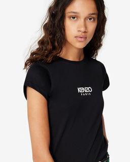Czarna koszulka z logo