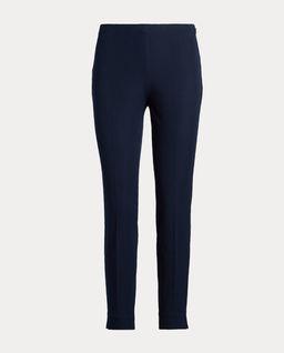 Granatowe spodnie Skinny