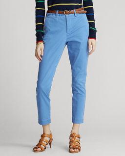 Niebieskie spodnie Chino