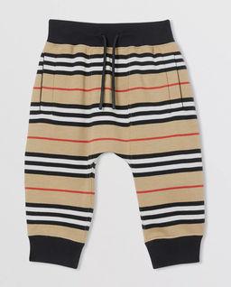 Spodnie dresowe w paski 0-2 lat