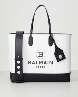 Biała torebka z logo
