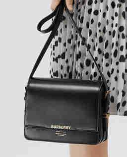 Czarna torebka ze skóry Grace