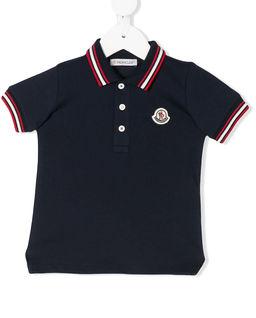 Granatowa koszulka polo 0-3 lat