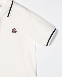 Biała koszulka polo 4-14 lat