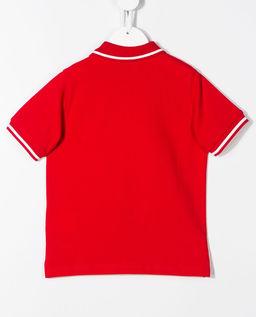 Czerwona koszulka polo 8-14 lat