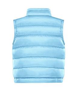 Niebieska pikowana kamizelka 3-6 lat