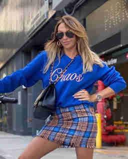 Bluza Chaos Royal Blue
