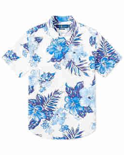 Koszula z krótkim rękawem Slim Fit