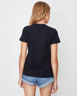 Czarna koszulka z czaszką