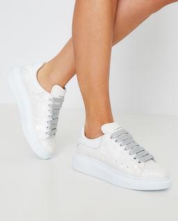 Sneakersy z brokatem
