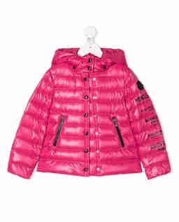 Różowa kurtka z nadrukiem 6-14 lat