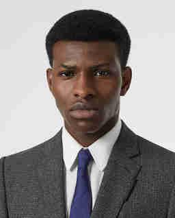 Niebieski krawat z jedwabiu