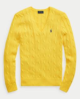 Żółty sweter Polo
