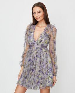 Sukienka w kwiaty Garland