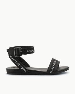 Sandały z logo
