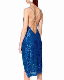 Sukienka Kim Brillant Blue