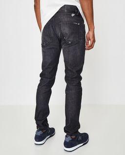 Czarne jeansy Skinny da Vinci