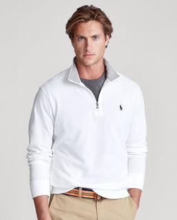Bawełniany sweter z suwakiem