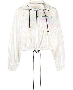 Holograficzna kurtka wiatrówka