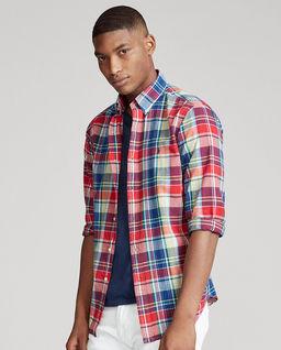 Koszula w kratę Custom Fit