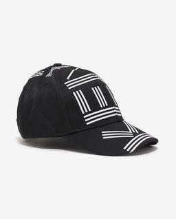 Černá čepice s logem