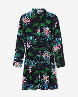 Šaty s vodními liliemi