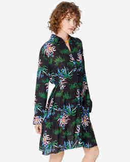 Sukienka w lilie wodne