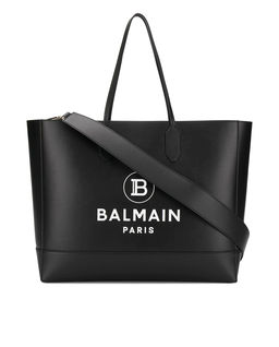 Czarna torebka Shopper