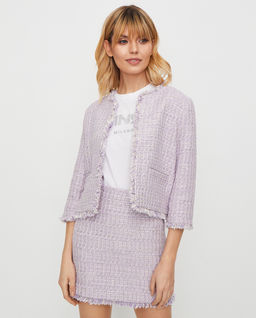 Tweedowy żakiet