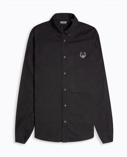 Czarna koszula z tygrysem