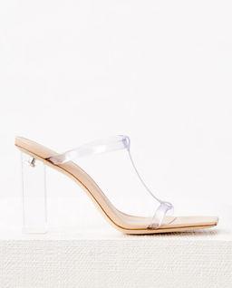 Transparentne sandały Piper