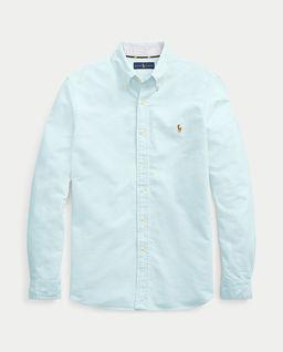Niebieska koszula Custom Fit