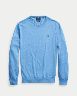 Niebieski sweter Slim Fit