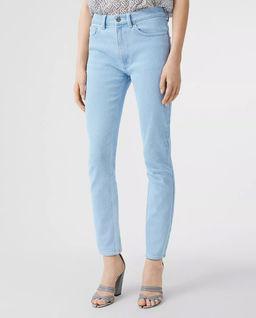 Niebieskie jeansy Skinny Fit