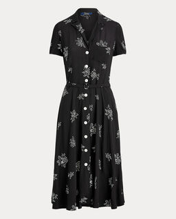 Sukienka midi w róże