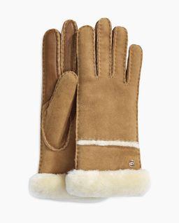 Brązowe rękawiczki