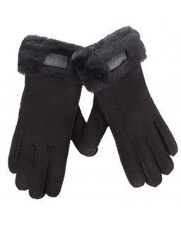 Czarne rękawiczki Turn Cuff