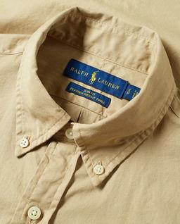 Beżowa koszula męska
