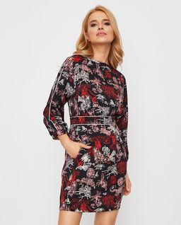 Wzorzysta sukienka Mida