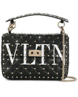 Czarna torebka Rockstud VLTN