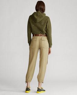 Beżowe spodnie Cargo