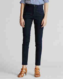 Tmavomodré kalhoty Chino