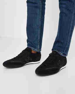Czarne sneakersy Olympia