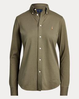 Zielona koszula Oxford
