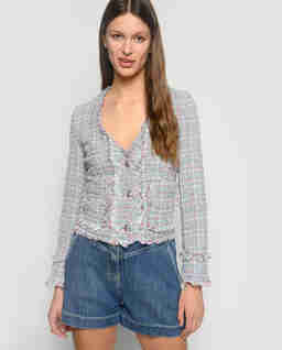 Tweedové sako