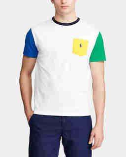 Biały t-shirt Custom Slim